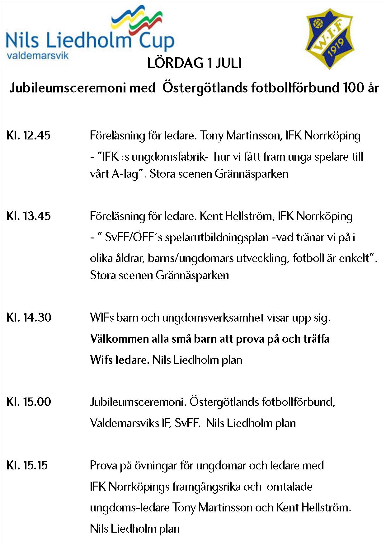 Information Nils Liedholm Cup Cuponline